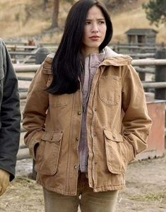 Yellowstone-Monica-Dutton-Jacket-With-Fur-Collar