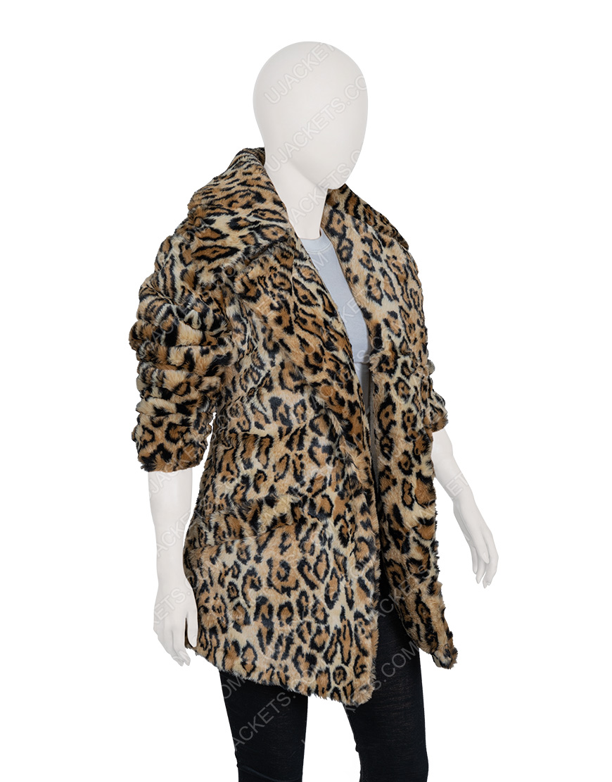 Yellowstone S02 Beth Dutton Cheetah Coat