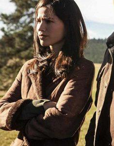Yellowstone-S02-Monica-Shearling-Coat