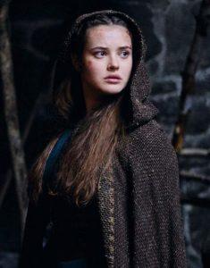 cursed-katherine-langford-coat