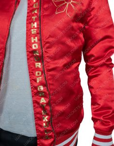 Aimee Carrero She-Ra and The Princesses of Power Adora Red Varsity Jacket