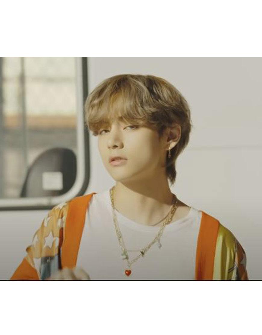 BTS-Dynamite-Jungkook-orange-hoodie