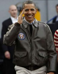 Barack-Obama-A-2-Flight-Jacket