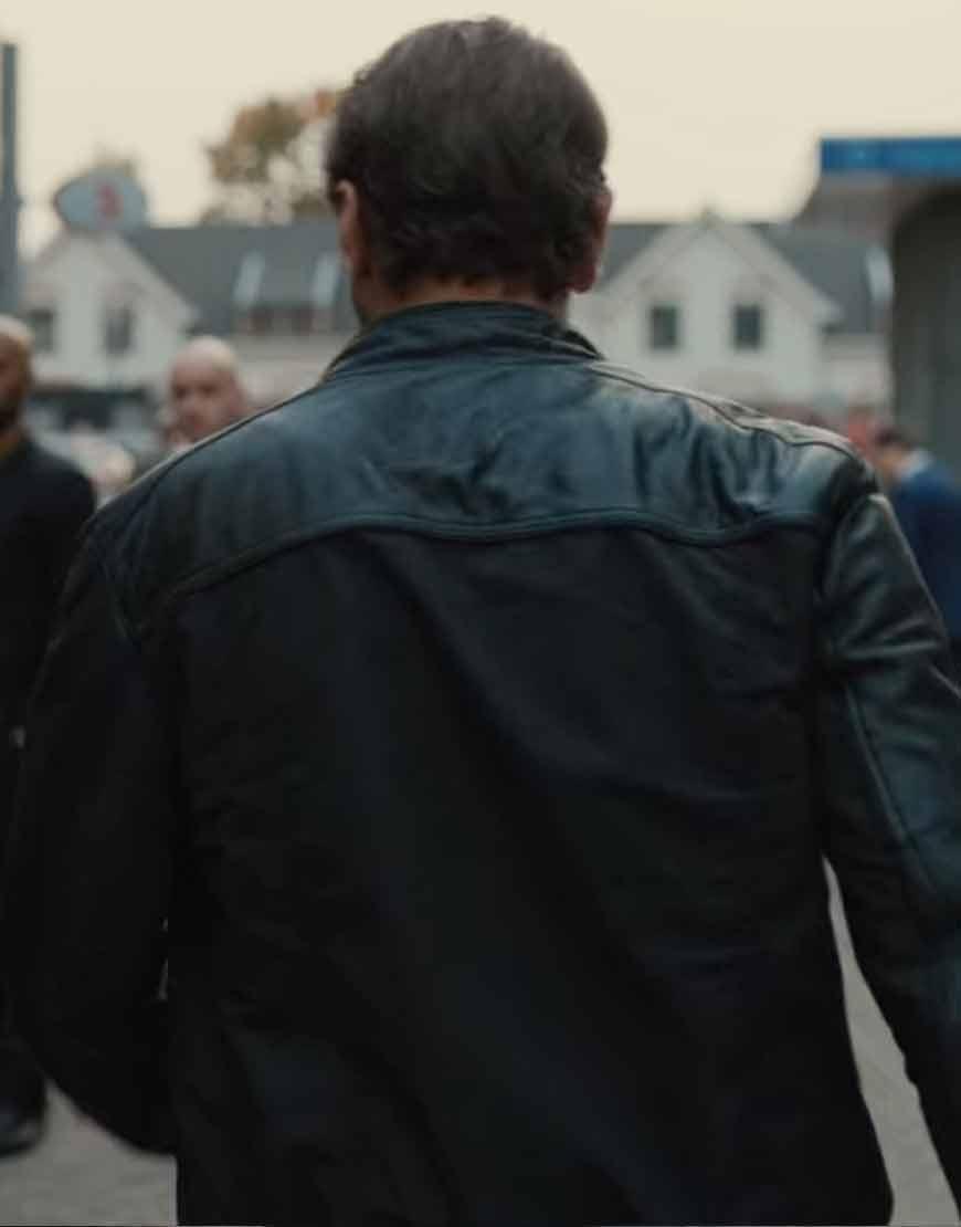 Bob-Lemmens-Undercover-Season-2-Tom-Waes-Brown-Jacket