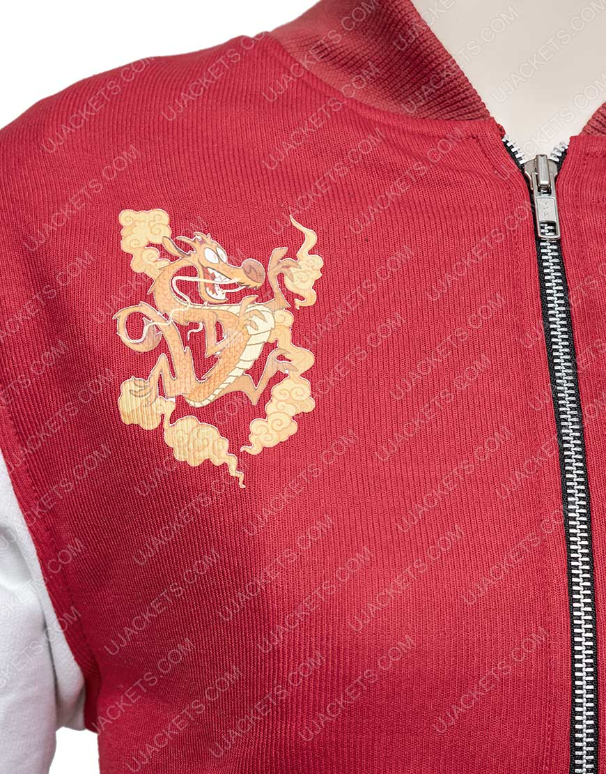 Bomber Ralph The Internet Mulan Red Jacket