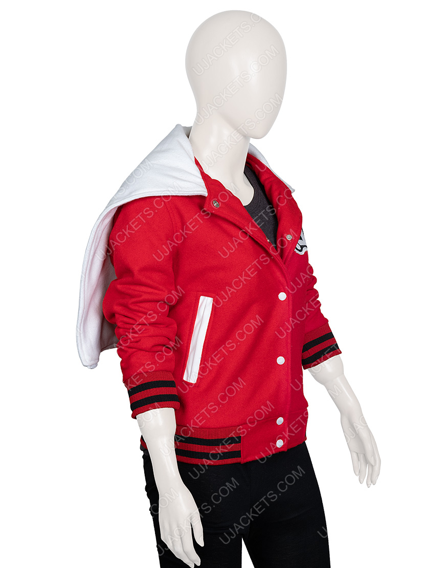 Cheerleading Glee Cheerios Red Jacket