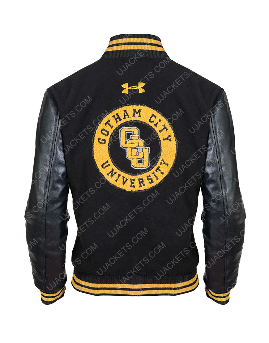 Cyborg Victor Stone Zack Snyder's Justice League Ray Fisher Letterman Jacket