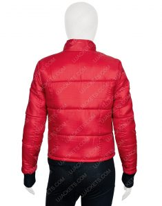 Jackie R. Jacobson Dylan Malibu Rescue The Next Wave Bomber Style Jacket