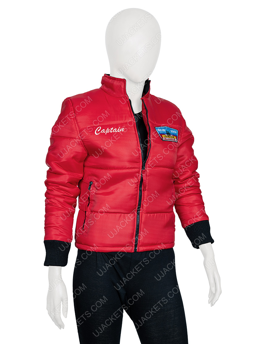 Jackie R. Jacobson Dylan Malibu Rescue The Next Wave Red Style Jacket