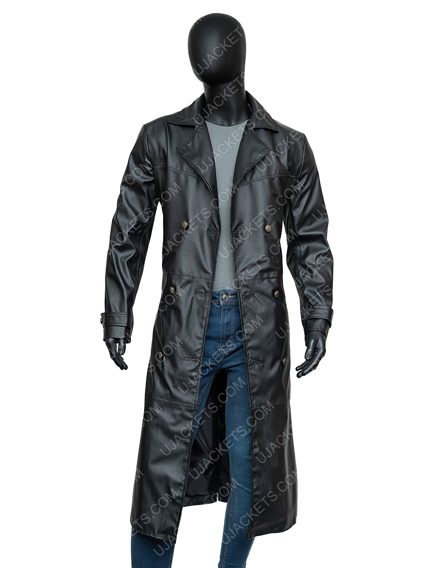 James Marsters Buffy The Vampire Slayer Spike Black Leather Coat