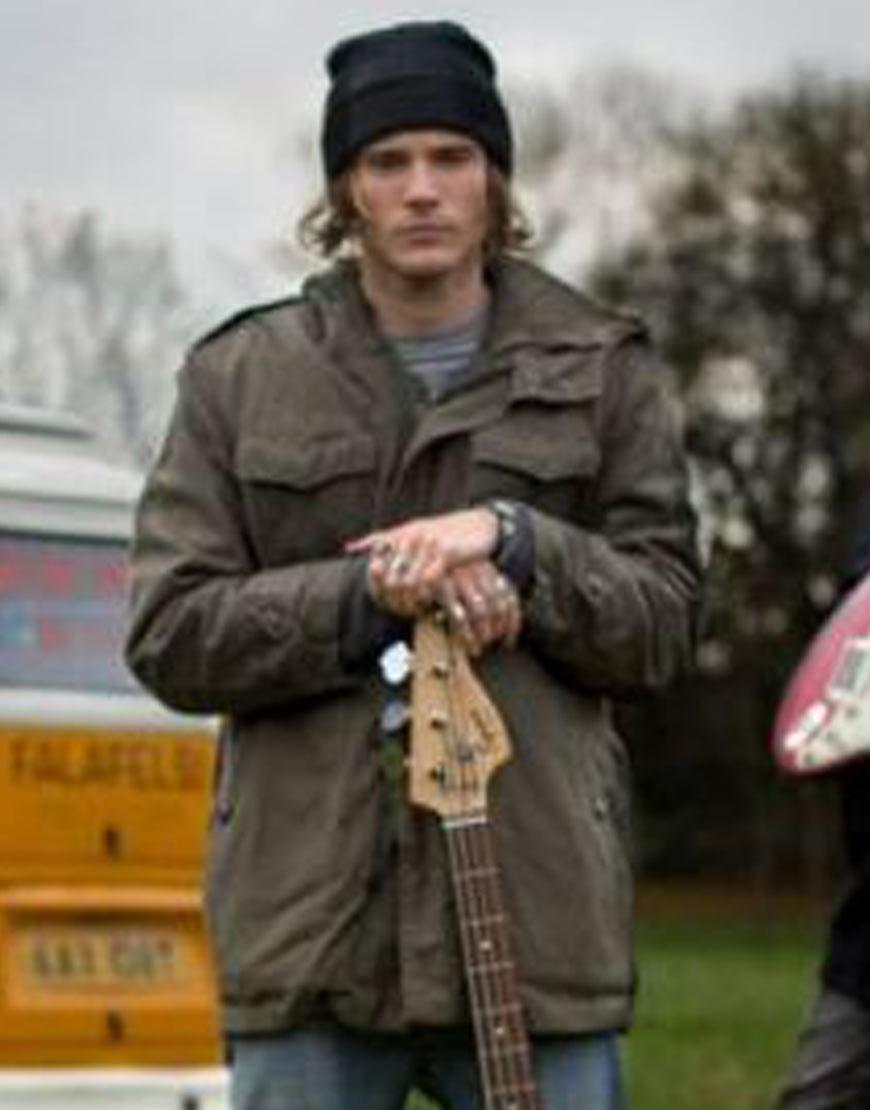 Kat-and-the-Band-Dougie-Poynter-Green-Jacket