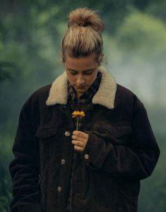 Lili-Reinhart-Chemical-Hearts-Brown-Jacket