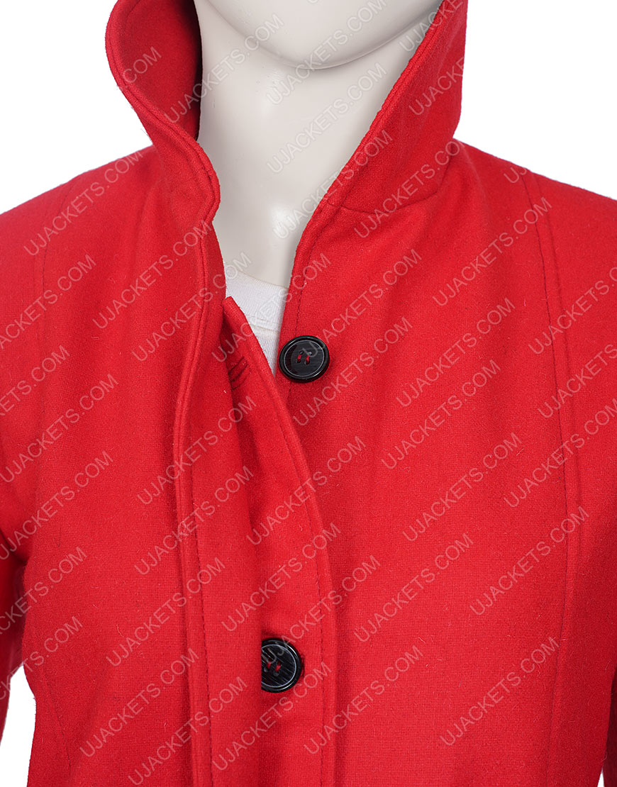 Love, Guaranteed Susan Red Coat