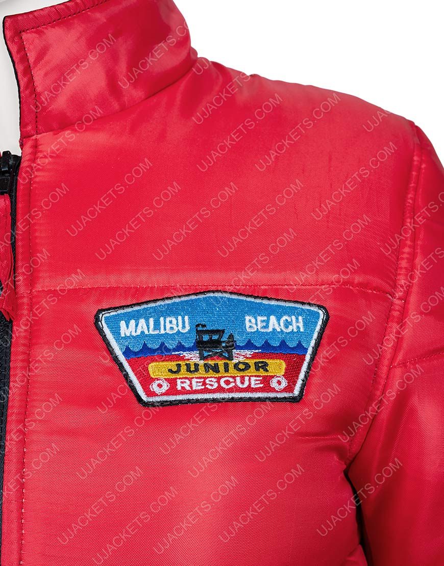 Malibu Rescue The Next Wave Dylan Red Bomber Jacket