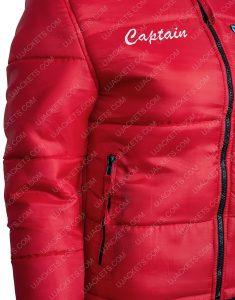 Malibu Rescue The Next Wave Red Bomber Style Jacket