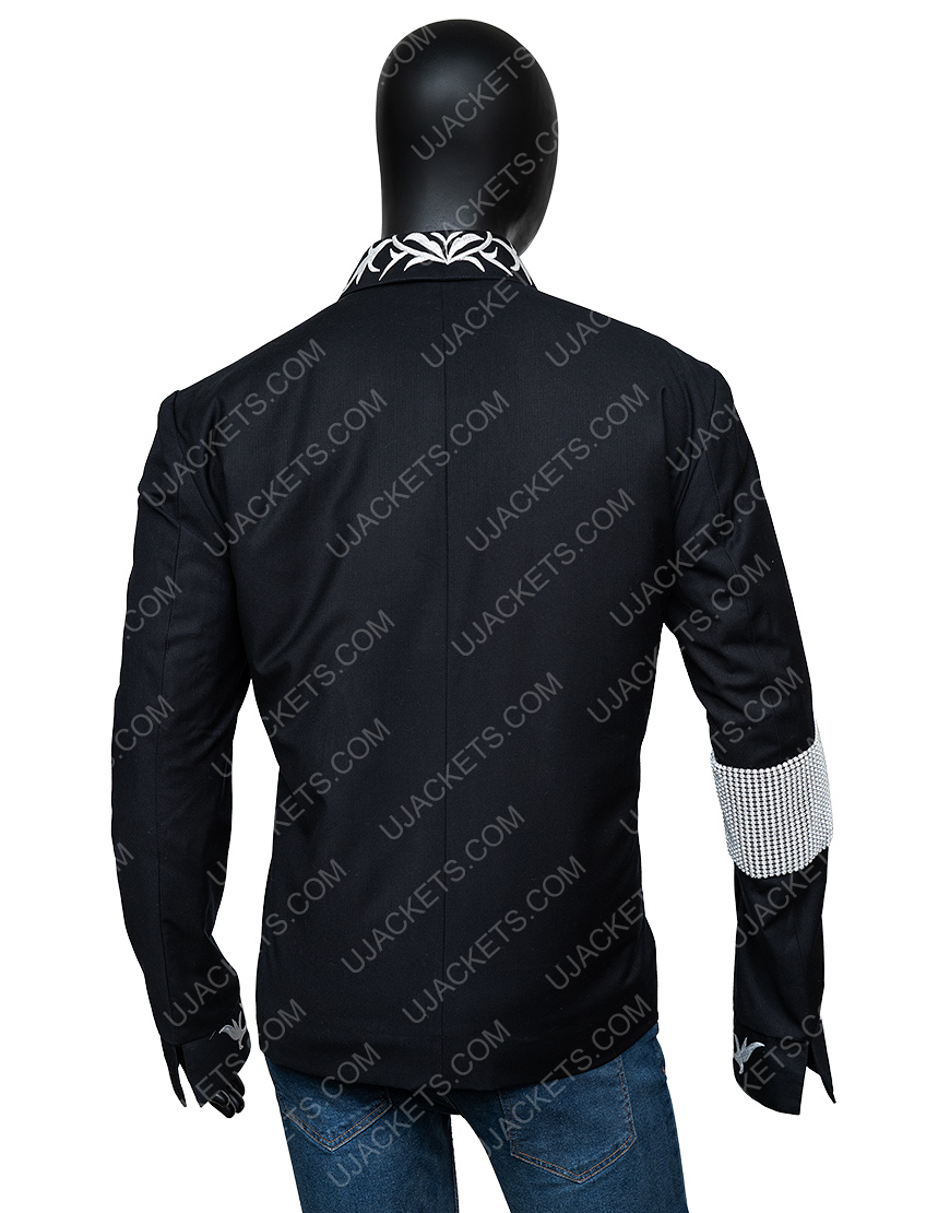 Michael Jackson, This is It Conference Black Cotton Jacket