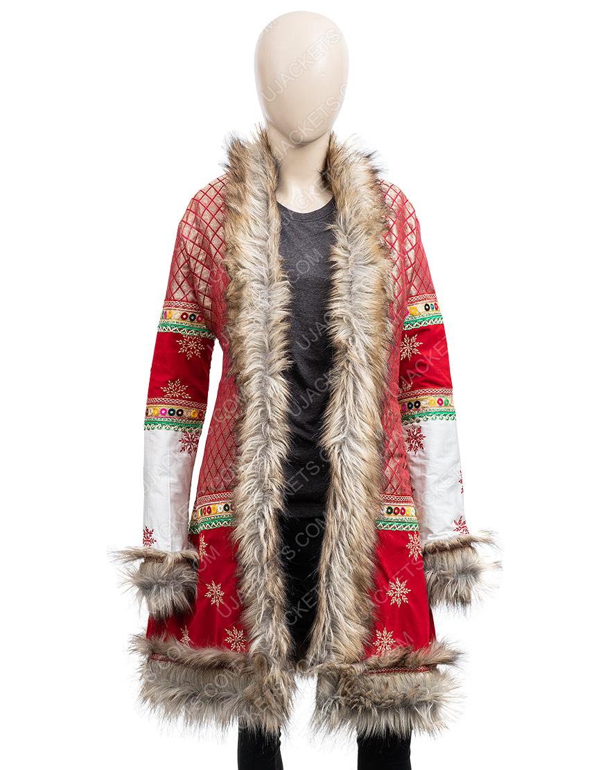 Noelle Anna Kendrick Shearling Coat