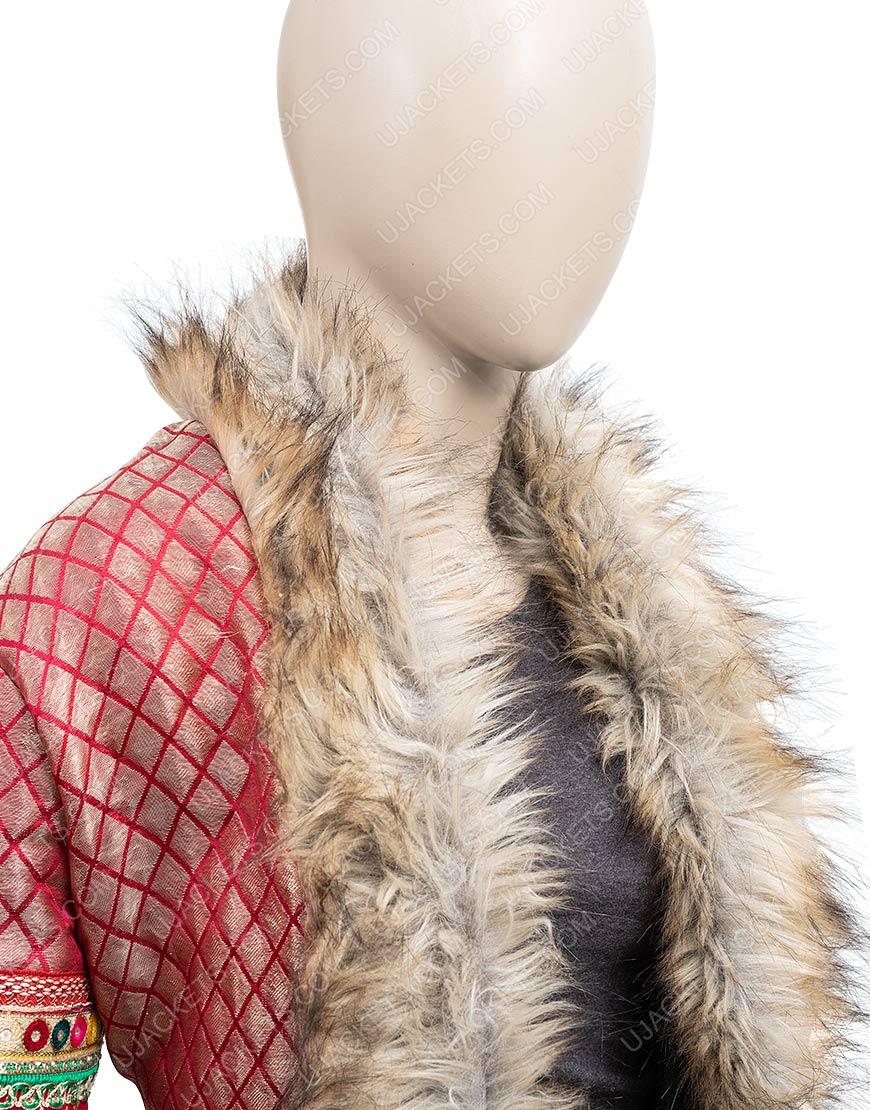 Noelle Anna Shearling Coat