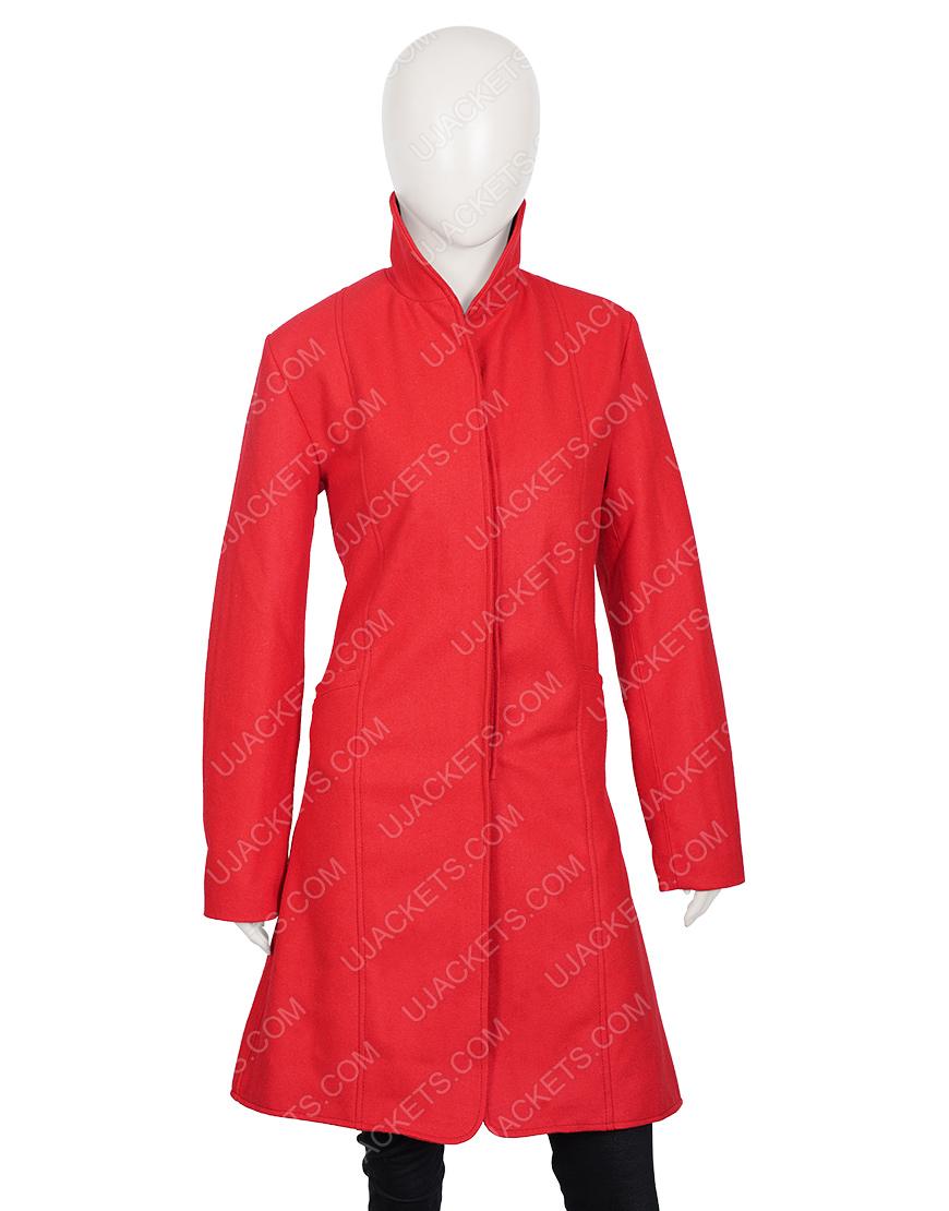 Rachael Leigh Cook Love, Guaranteed Susan Red Coat