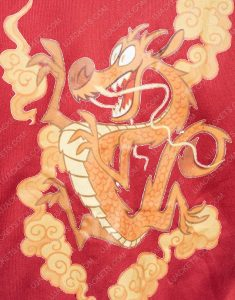 Ralph Breaks The Internet Bomber Mulan Red Jacket