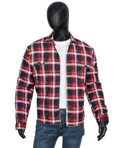 Ryan Bingham Yellowstone S03 Walker Checkered Jacket