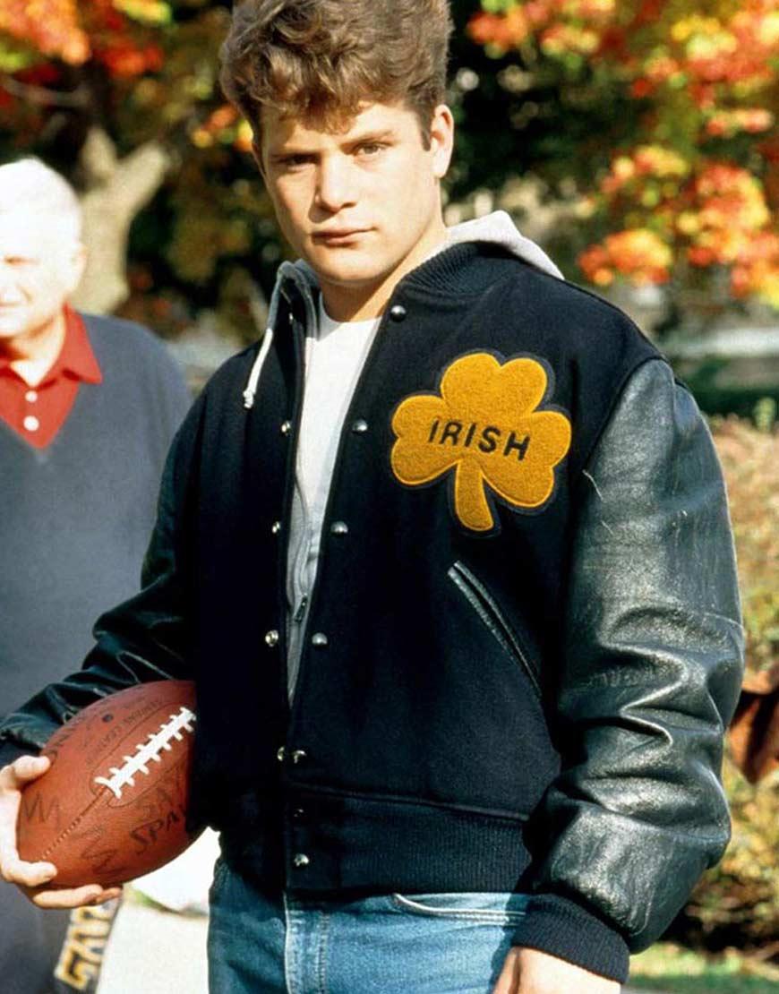 Sean-Astin-University-Of-Notre-Dame-Irish-Letterman-Jacket