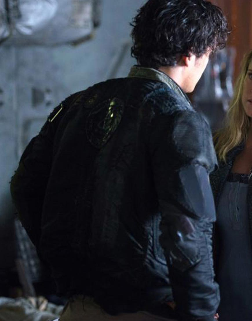 The-100-Season-7-Bob-Morley-Jacket-Back