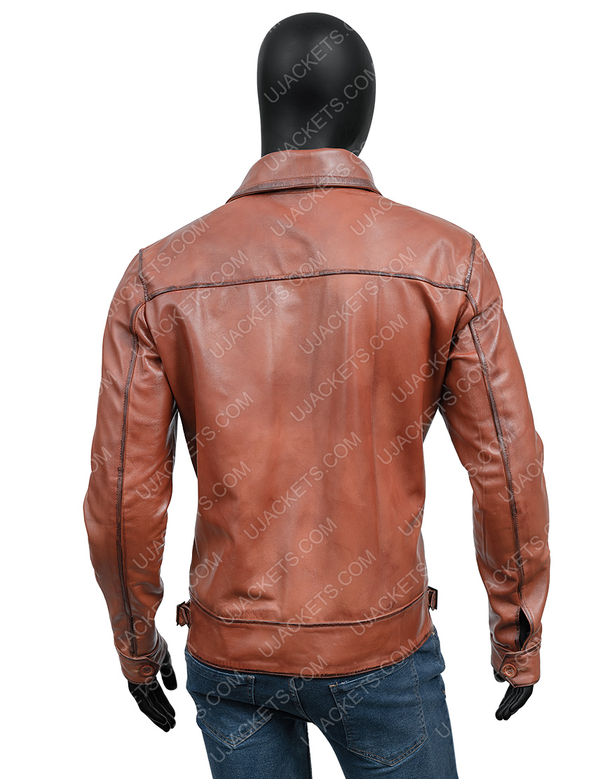 The Aviator Howard Hughes DiCaprio Leather Jacket