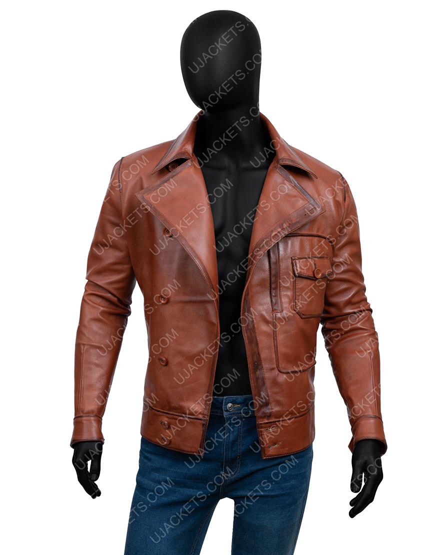 The Aviator Howard Hughes Leonardo DiCaprio Leather Jacket