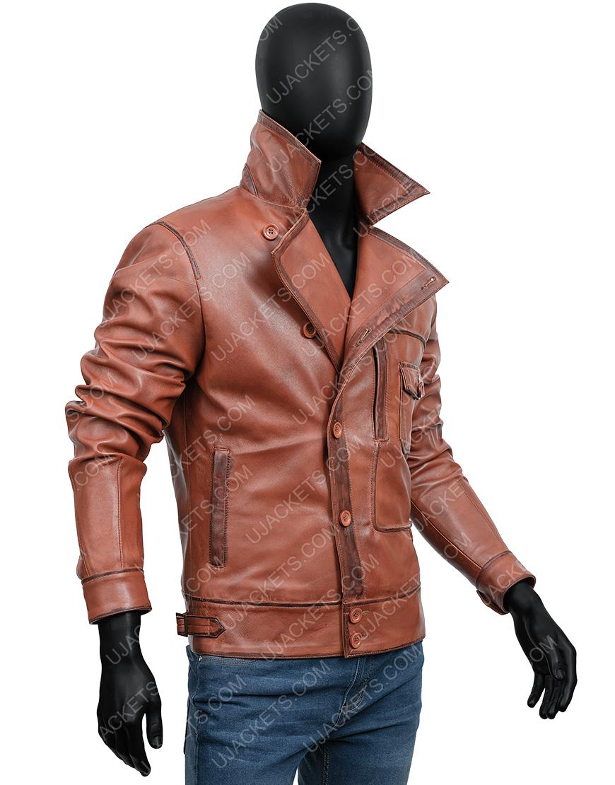 The Aviator Howard Leonardo DiCaprio Leather Jacket