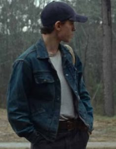 The-Devil-All-The-Time-Tom-Holland-Denim-Jacket