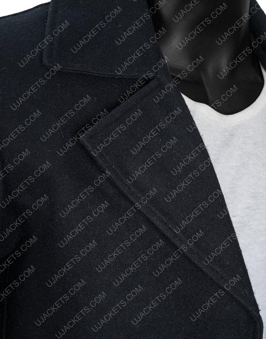 Video Game Resident Evil Village Black Woolen Coat