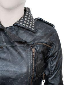 Vis a Vis El Oasis Macarena Ferreiro Fringed Leather Jacket