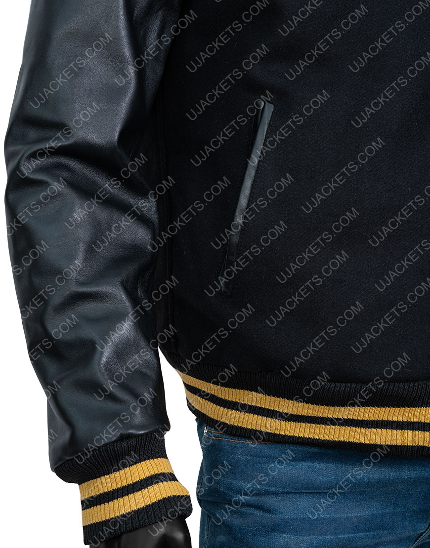 Zack Snyder's Justice League Ray Fisher Varsity Jacket