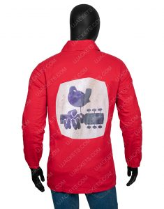 1969 Woodstock Security Jacket Back