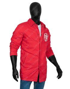1969 Woodstock Security Red Jacket