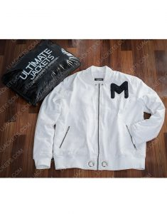 American DJ Marshmello Printed Logo Cotton Jacket