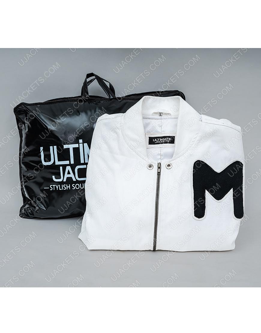 American DJ Marshmello Printed Logo Jacket