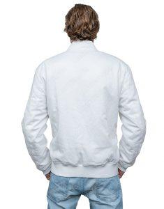 American DJ Marshmello White Cotton Jacket