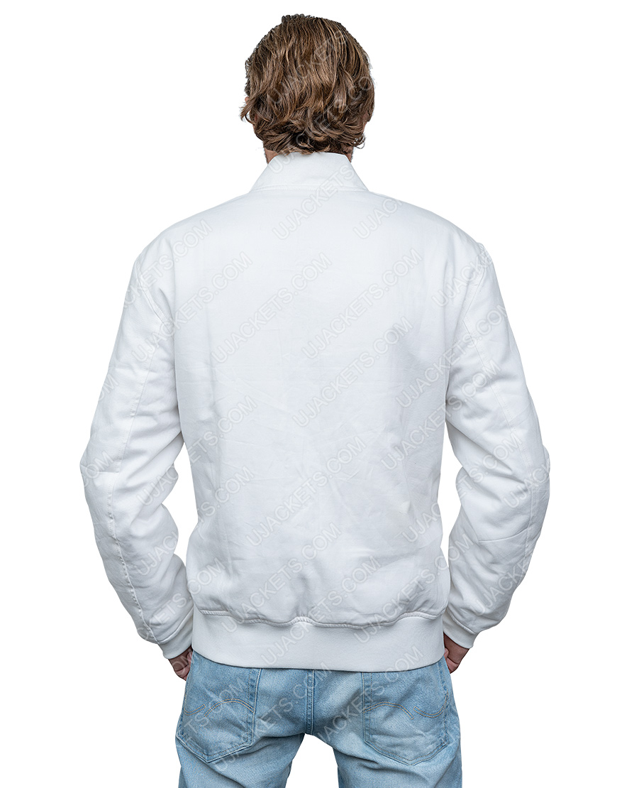 American DJ Marshmello White Cotton Jacket