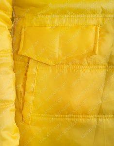 American Singer Billie Eilish Yellow Jacket