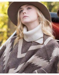 Ashleigh-A-Rainy-Day-In-New-York-Elle-Fanning-Style-Poncho