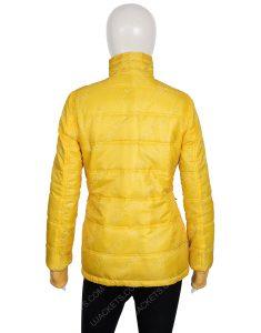 Billie Eilish American Singer Yellow Jacket