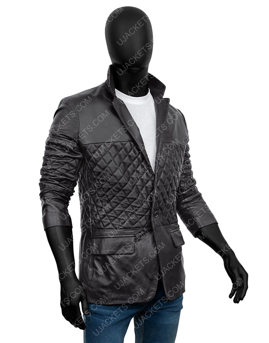 Cafe Racer Biker Lambskin Leather Jacket