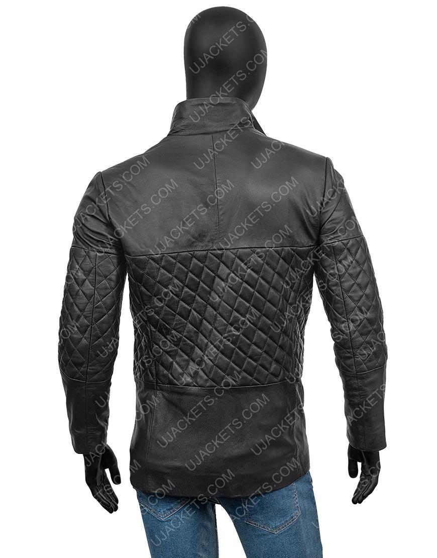 Cafe Racer Biker Leather Racer Jacket