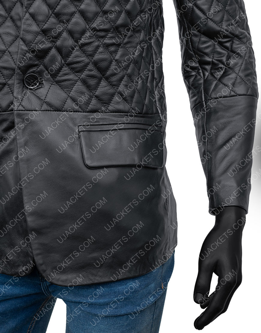 Cafe Racer Biker Motorcycle Leather Jacket