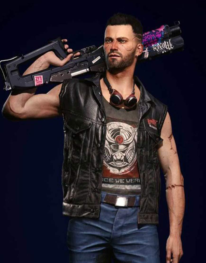 Cyberpunk-2077-V-Nomad-Black-Leather-Vest