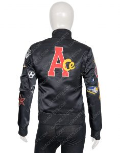 Doctor Who Sophie Aldred Patches and Badges Bomber Jacket