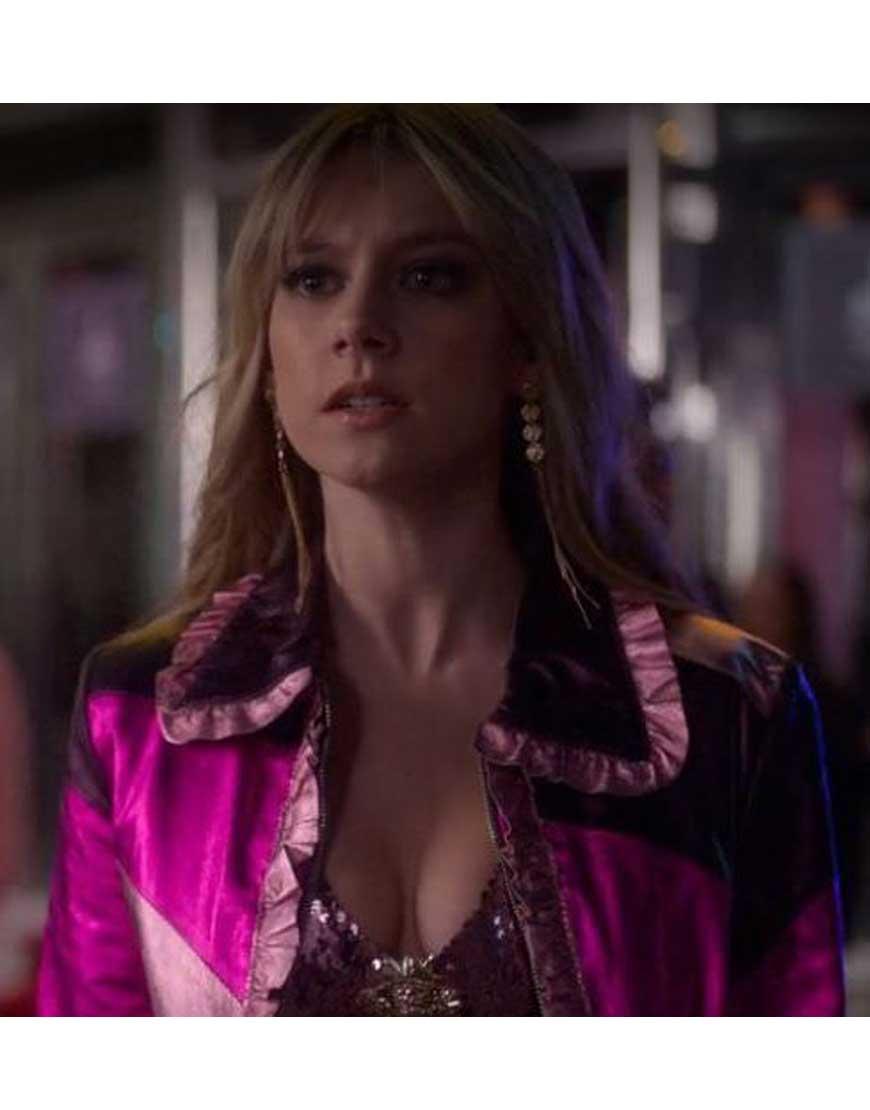 Elite-Ester-Expósito-Shimmer-Pink-Jacket