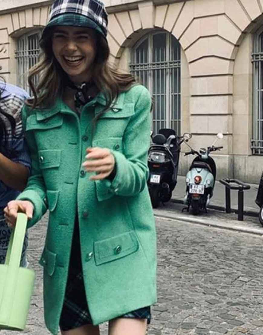 Emily-In-Paris-Multi-Pocket-Coat